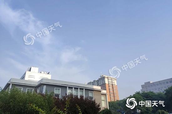 """38℃!今天北京受""""烤验"""" 明天起暂别高温图片"""