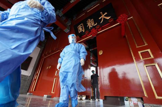 北京西城完成核酸采样2.8万人,四大检测点1000多医生挥汗如雨图片