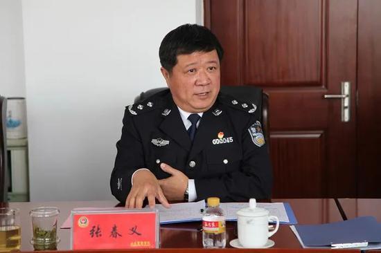 赢咖3代理:警察赢咖3代理学院党委书记张春义图片