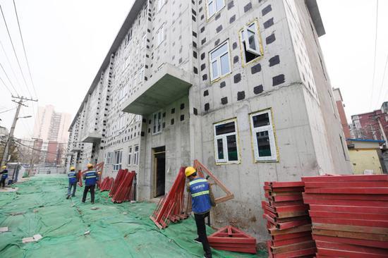 摩天注册:北京发布危旧楼房摩天注册改建图片