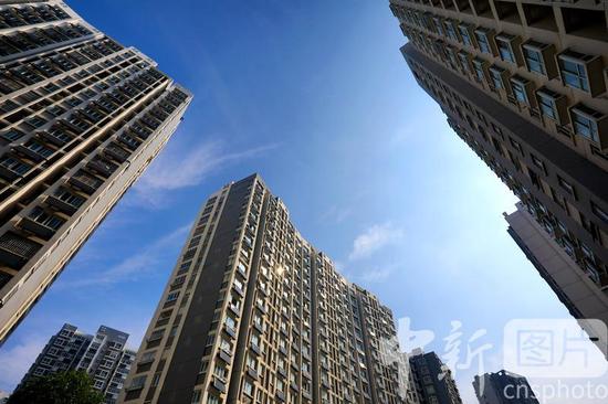 △房地产5月贩卖增速回正 数据指标连续向好 中新社发 周长国 摄