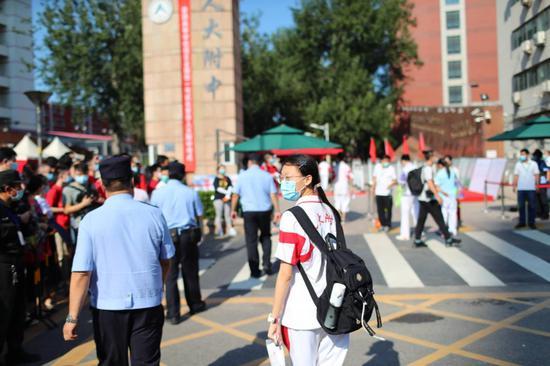 sky平台注册北京6700警力保障图片