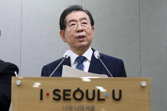 韩国首尔市长朴元淳(news 1)
