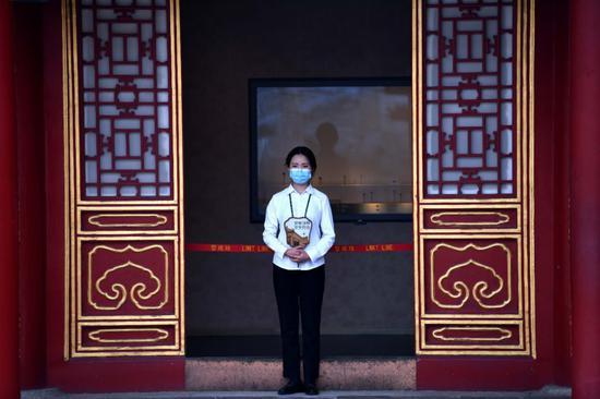 杏悦,故杏悦宫室内常设展厅恢复开放参观需图片