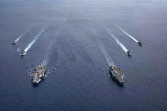 西媒:美国想要与中国发生军事冲突