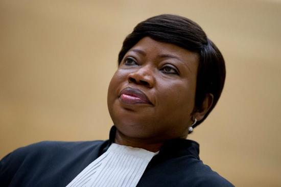 2015年9月29日在荷兰海牙拍摄的国际刑事法院检察官法图·本苏达。新华社/美联