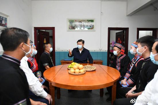习近平:今天我到这里来,也是受教育图片