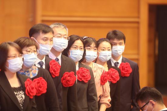 北京市抗击新冠肺炎疫情表彰大会举行图片