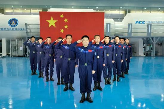 """我国第三批预备航天员18人入选 新增两""""工种""""图片"""