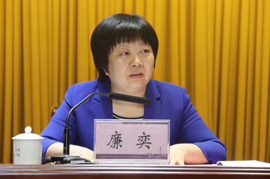 广东省委组织部副部长廉奕已调任广州市领导图片