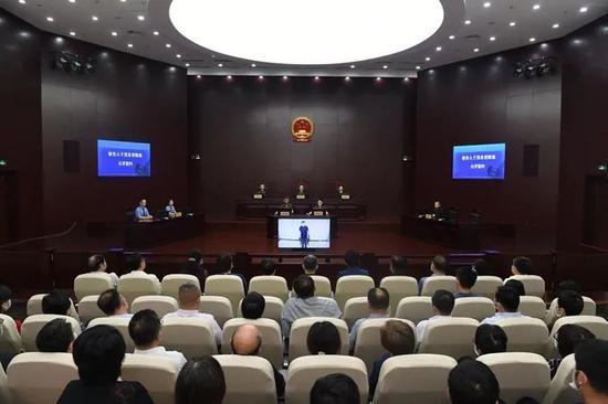 天津南开区政协原主席于茂东一审获刑十一年图片