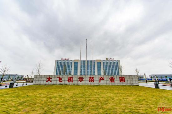 中国商飞大飞机维修机库年底投入使用图片