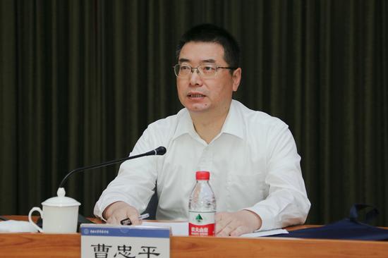 公安部十二局局长曹忠平,已任湖南省民政厅党组书记图片