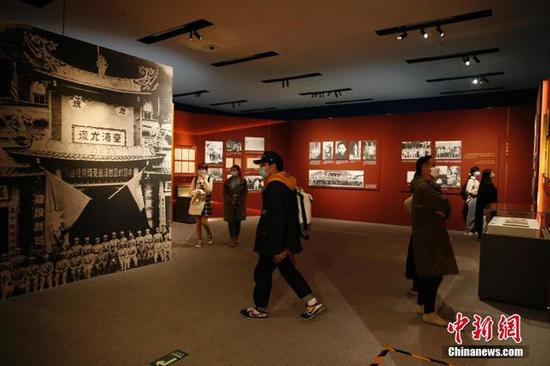 纪念台湾光复七十五周年主题展在中国国家博物馆开幕图片