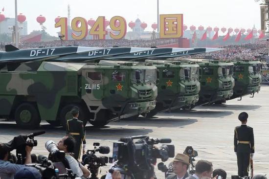 美国对台军售无法改变解放军装备和技术优势越来越大的现实。图源:外媒