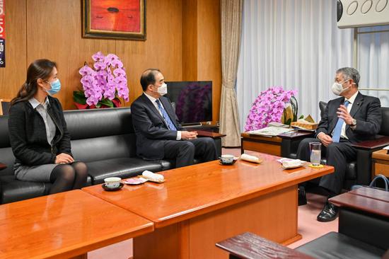 驻日大使孔铉佑:日本新政府上台后 中日关系总体平稳过渡图片
