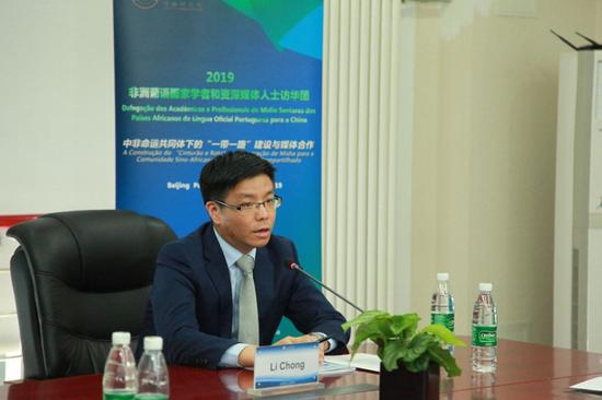 外交部非洲司副司长李翀 任广东省珠海市副市长图片