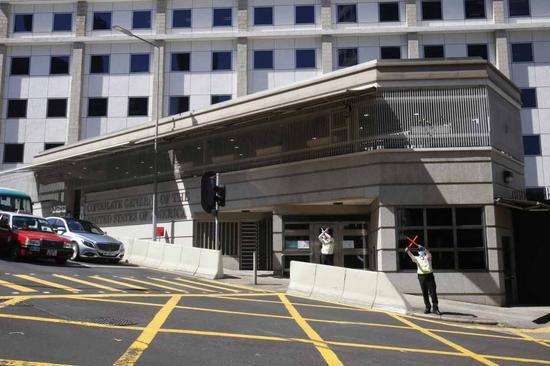 港媒:美驻港澳总领事馆计划大规模装修 找楼面搬迁遇阻图片