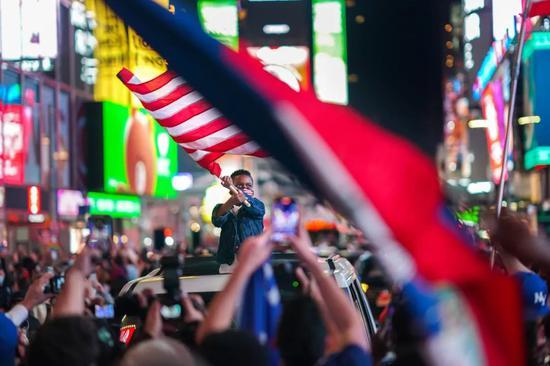 特朗普似乎已接受败选 但巨大分歧已重新定义美国