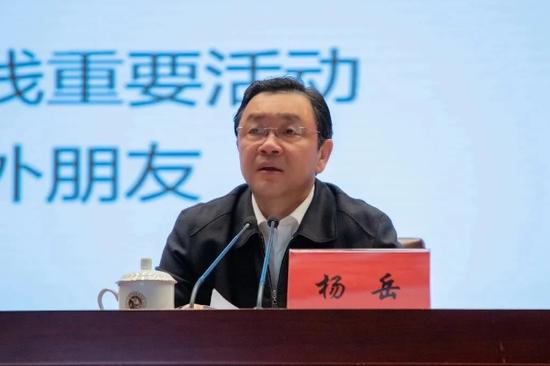 江苏省委常委、统战部部长杨岳,已兼任省政协党组副书记图片