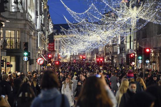 伦敦单日新增11577例新冠肺炎确诊病例