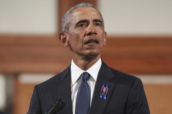 奥巴马谈美国会暴力事件:美国极其耻辱的一刻