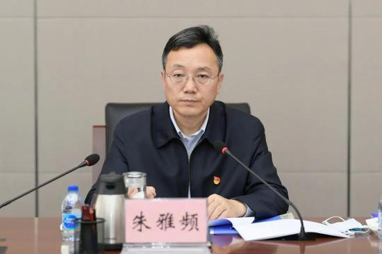 朱雅频任北京市检察院党组书记图片