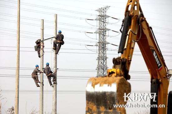 石家庄:集中隔离场所火速接电中 预计15日中午送电图片