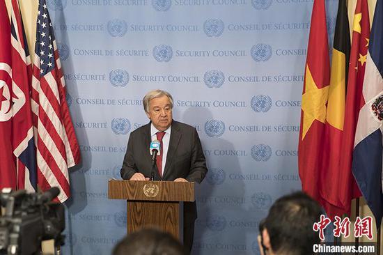 联合国秘书长欢迎美国重返《巴黎协定》和世卫组织