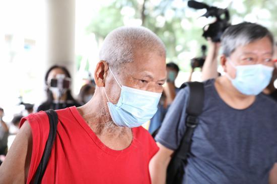 香港反对派成员侮辱国旗案罪成 被判监4个月图片