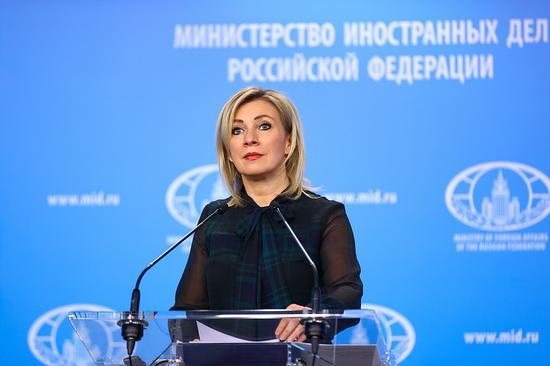 俄外交部发言人回应欧盟制裁威胁:不理智又可笑