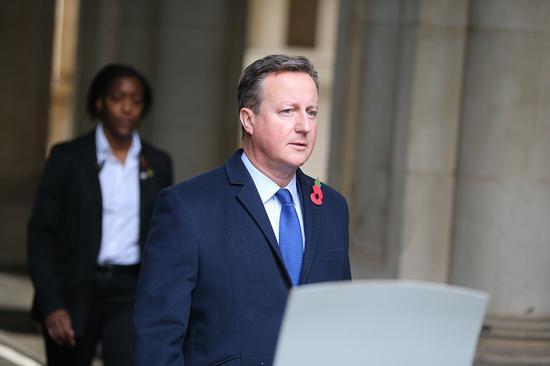 英媒:英前首相卡梅伦将被政府调查 涉嫌不当游说图片