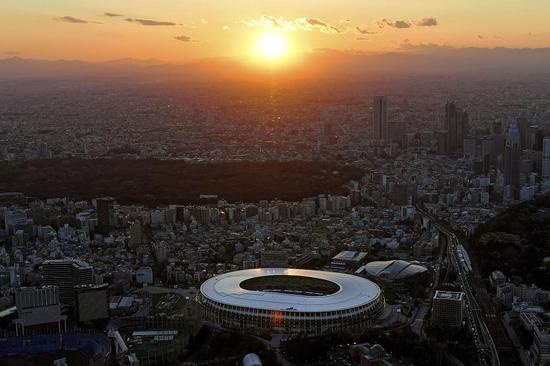东京奥运会倒计时45天 主会场周边开始实施交通管制