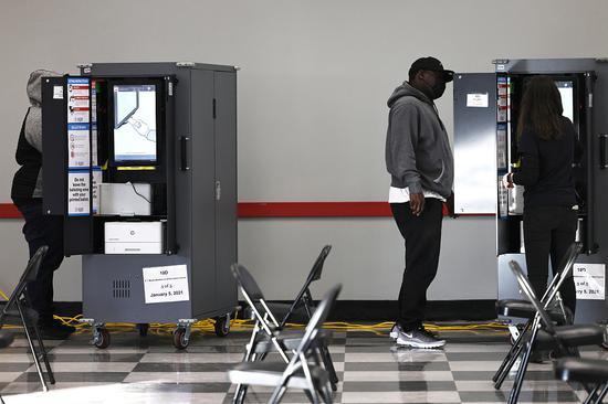 """美佐治亚州10万多份""""过时""""选民档案将被清理"""
