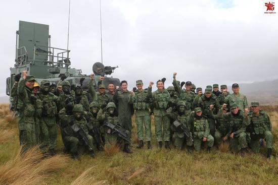 新加坡军队在新西兰军演
