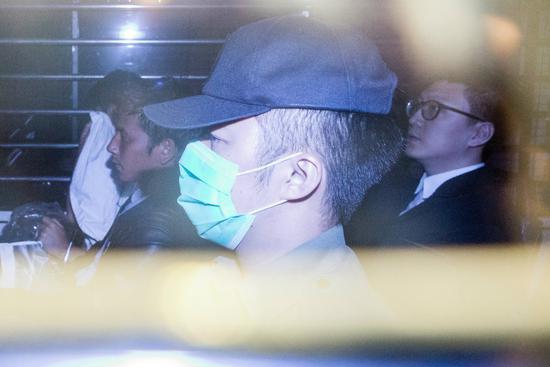 梁天琦仍需还押,下周将向法庭求情(图:港媒)