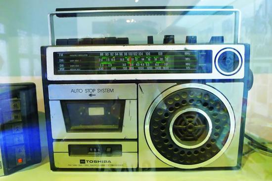 20世纪80年代东芝录音机