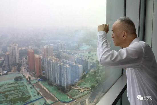 俯瞰丽泽金融商务区规划建立