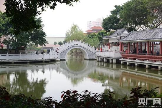 紫南村村内公园(紫南村村委会供图)