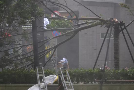 台风来袭港珠澳大桥顶住16级风 感谢逆风而行的人