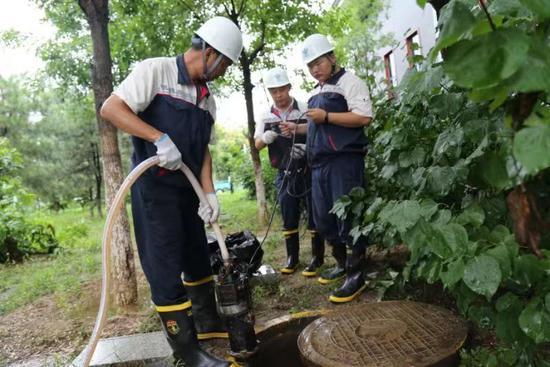 北京两座水库超汛线 部分河道出现涨水|强降雨
