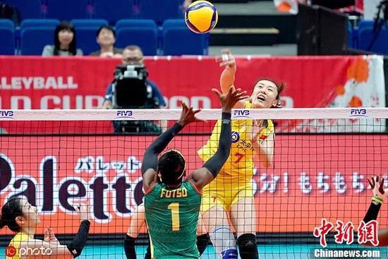 中国女排3:0喀麦隆朱婷的接班人出现了?