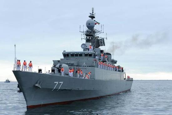 伊朗海军军舰