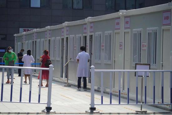 北京协和医院新冠核酸采样方舱今天启用图片