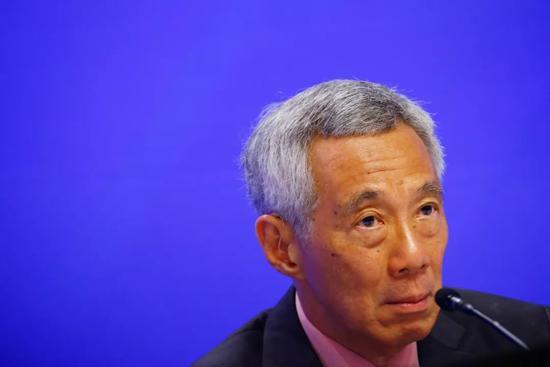 """李显龙:越来越担心美""""将中国视为对手""""可能导致危险结果图片"""