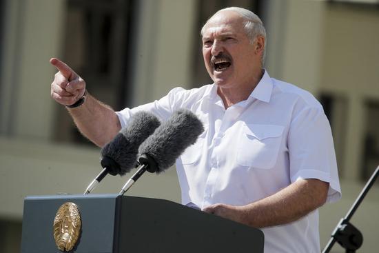 卢卡申科拒绝白俄重新大选:对西方言听计从 国将不国