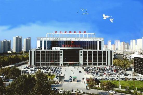 河北省胸科医院启动应急救治预案,暂停接诊普通门诊图片