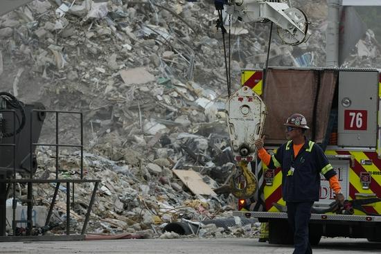 美媒:美倒塌公寓25年前已出现结构破损