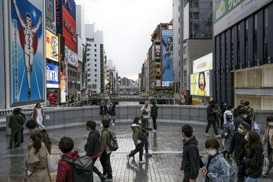 日本首都圈三县和大阪府将启动紧急状态