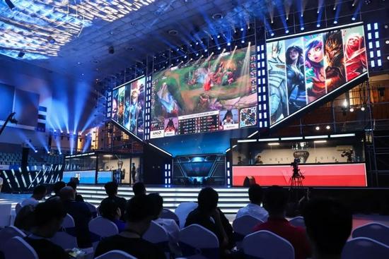 2019NEST全国电竞大赛。图/中国新闻图片网